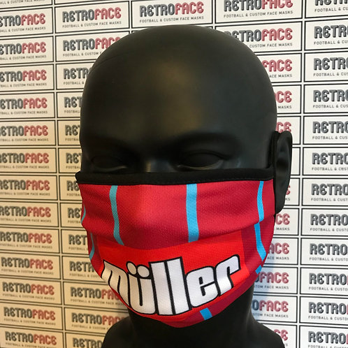 ASTON VILLA FC FACE MASK HOME '94