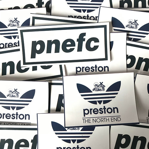 Stickers - Preston North End MIX