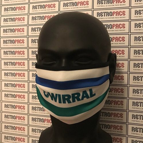 RETRO - TRANMERE ROVERS FACE MASK HOME '95
