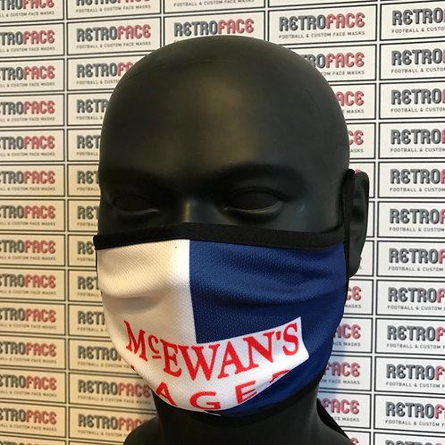 RETRO - BLACKBURN FC FACE MASK HOME 94/95 'CHAMPIONS'