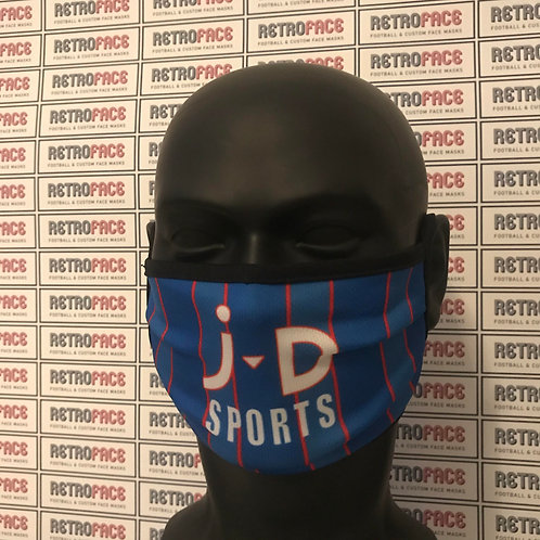 RETRO - OLDHAM ATHLETIC HOME '93 FACE MASK
