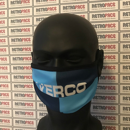 RETRO - WYCOMBE WANDERERS HOME '97 FACE MASK