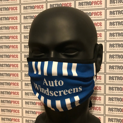 RETRO - BIRMINGHAM CITY FC FACE MASK HOME '99