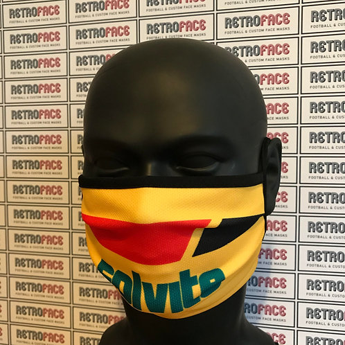 RETRO - WATFORD FC FACE MASK HOME '86