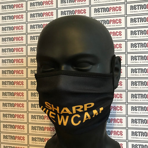 RETRO - MAN UNITED FC FACE MASK AWAY '93