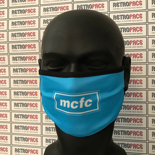 Man City OASIS Inspired Face Mask