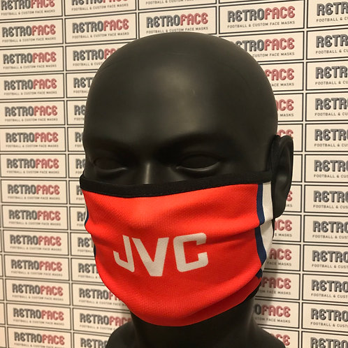 RETRO - ARSENAL FC FACE MASK HOME '98