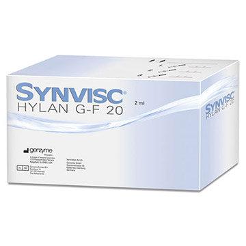 Synvisc Hylan G-F 20 Spritzampullen (1 x 2 ml)