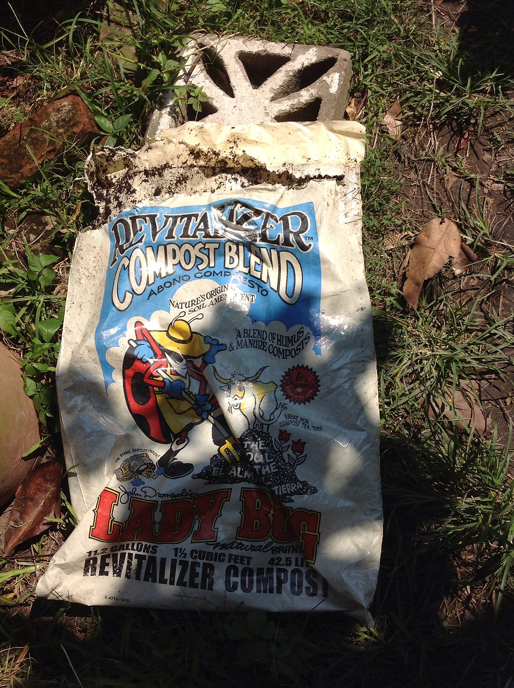 Cow Manure Mix