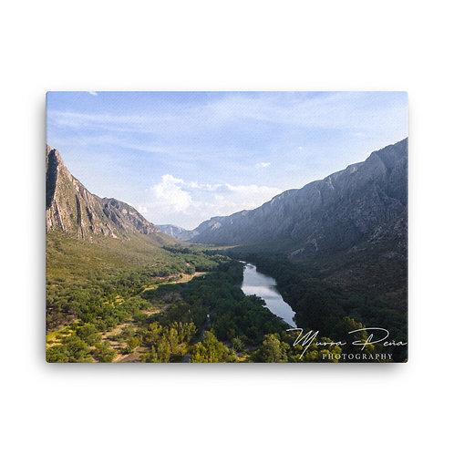 Rio Nazas a través del Cañón de Fernandez