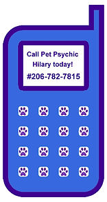 Pet Psychic cell phone consultations