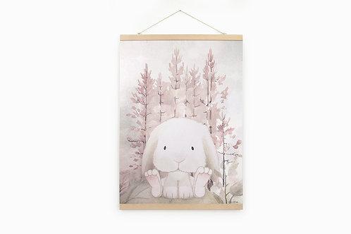Miss Corina Forest Print