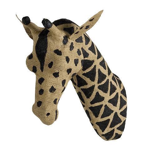 Animal wall decoration - Giraffe 8x26cm