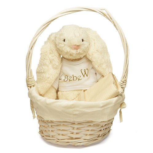 Basket Bunny Welcome