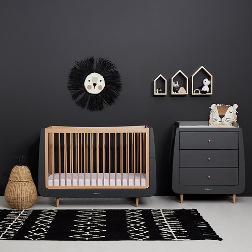 2 piece Skandi Furniture Set -Slate - incl. mattress