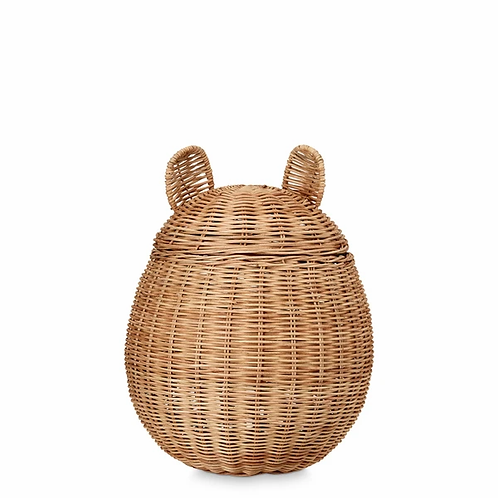 Bear Basket - Rattan