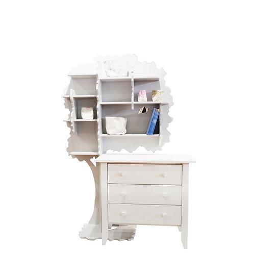 Sam Left Bookcase
