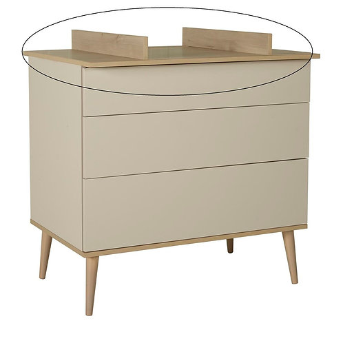 Flow Extension Commode - Clay & Oak