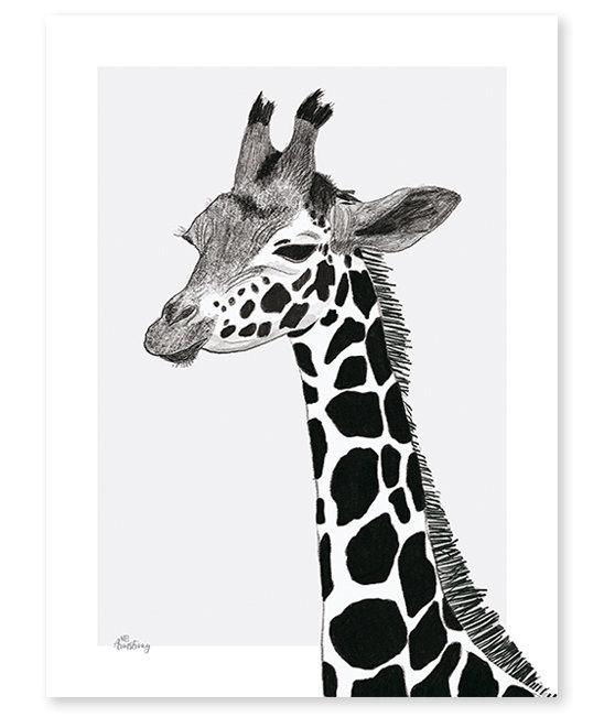 Giraffe Deco Print