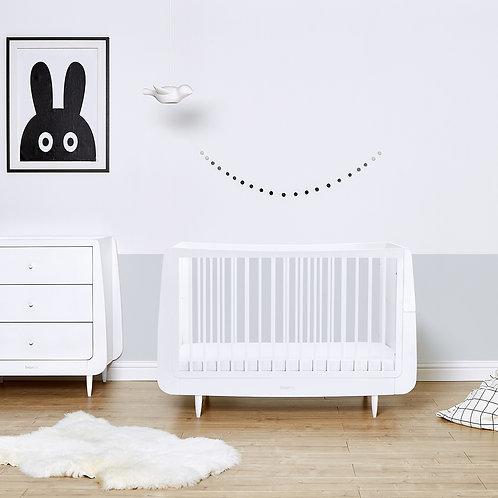 2 piece Skandi Furniture Set - White - incl. mattress