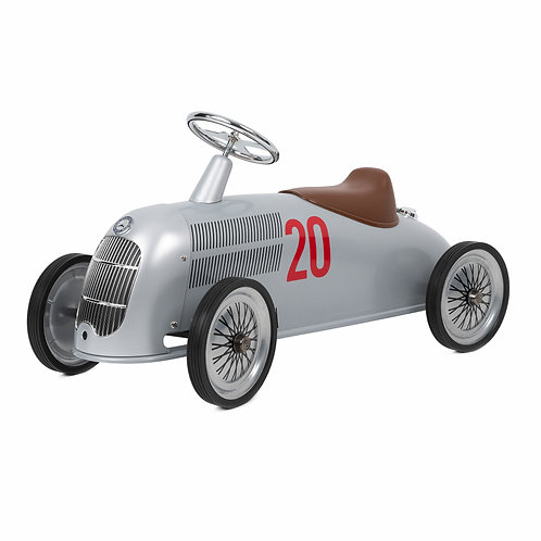 Rider Mercedes-Benz W 25 Silver Arrow