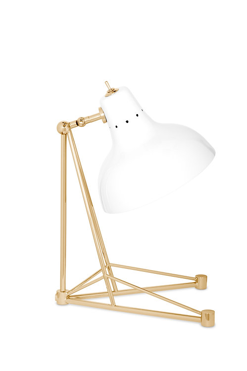 Diana Table Lamp -White