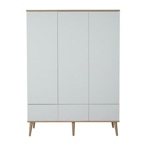 Flow Wardrobe XL - White & Oak