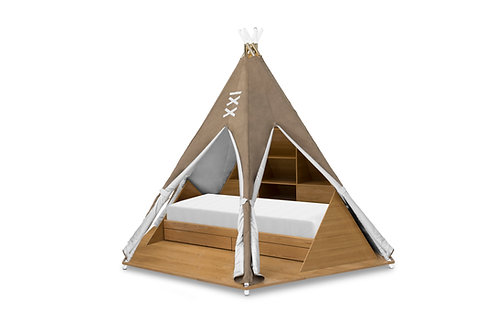 Tepee Room - Bed & play concept
