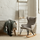 Thumbnail: Rocking Kids Chair De Luxe -Clay