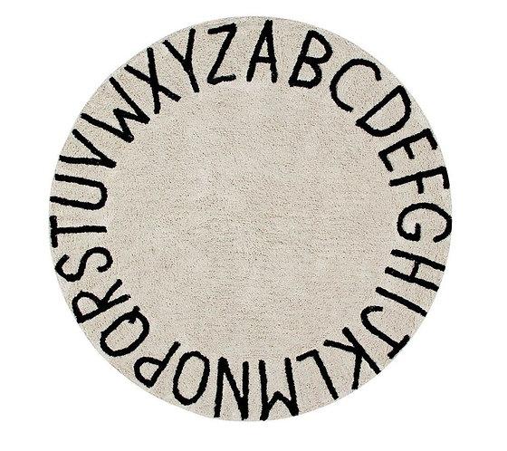 Washable Rug Round ABC - 150cm