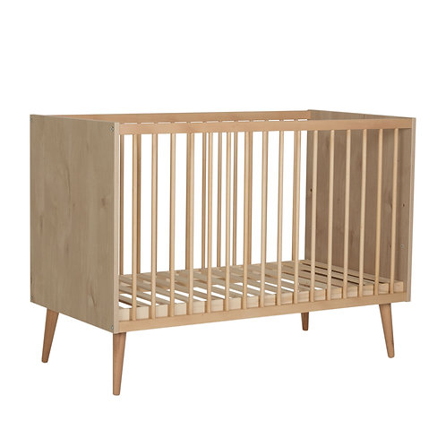 Cocoon Bed 120x60 Cm - Natural Oak