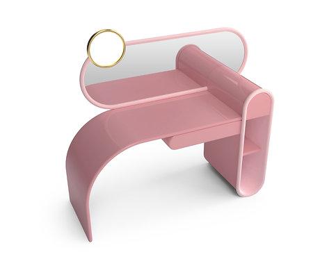 Bubble Gum Dressing Table