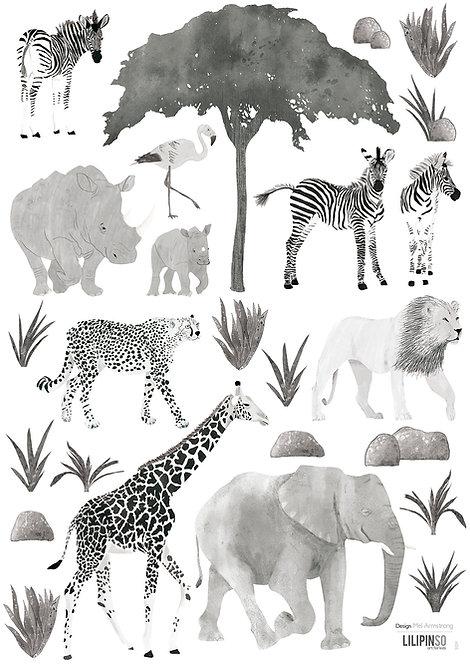 Wall Stickers Wild Animals