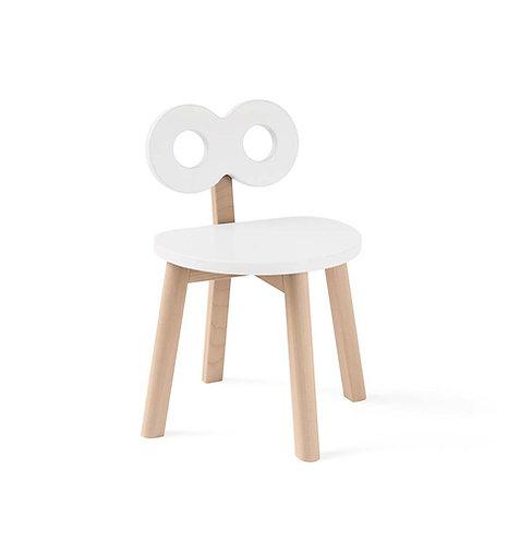Double-O Chair - White