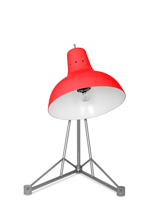 Diana Table Lamp - Candy Red