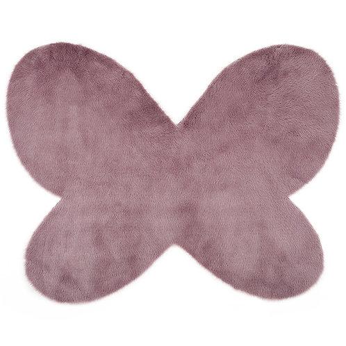 Rug Butterfly Gray Purple 100x140