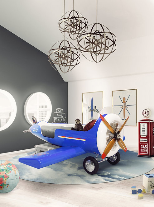 Sky One Plane Bed