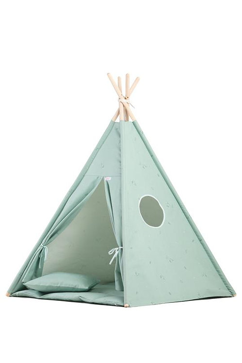 Teepee Set - Minty Green