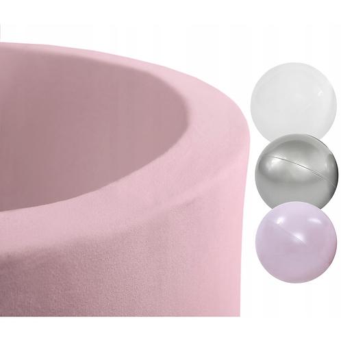 Smart Round Ball Pool Size S 90X30 Pale Pink 150 Balls