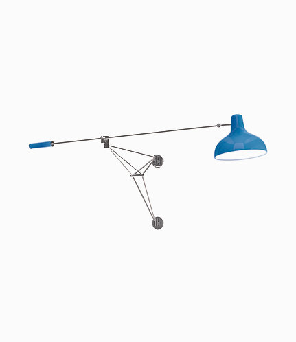 Diana Wall Lamp - Royal Blue