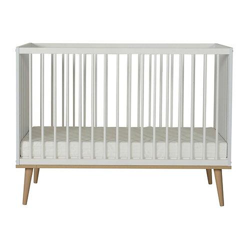 Flow Bed 120x60 Cm - White & Oak