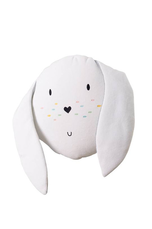Bunny Cushion White