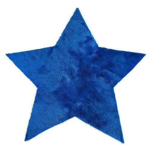 Rug Star Blue 140x140