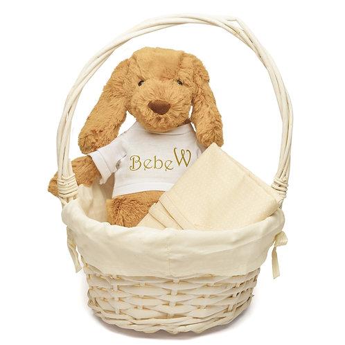 Basket Puppy Welcome