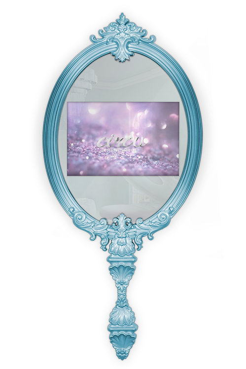 """Magical Blue Mirror with TV 22"""""""