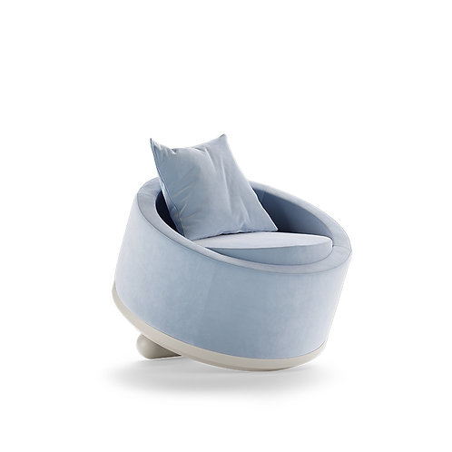 Bloom Arm Chair - Blue
