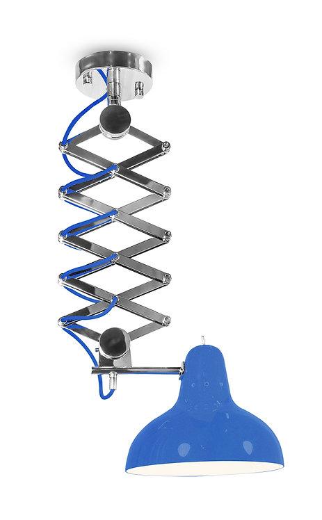 Diana Suspension Lamp - Royal Blue
