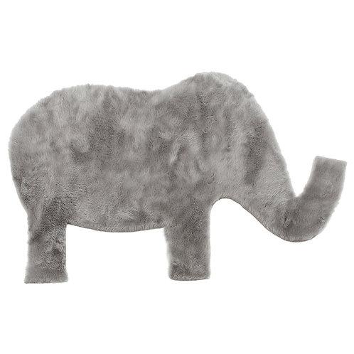 Rug Elephant Light Gray 90x140