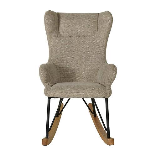 Rocking Kids Chair De Luxe -Clay