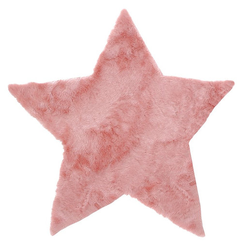 Rug Star Pink 100x100